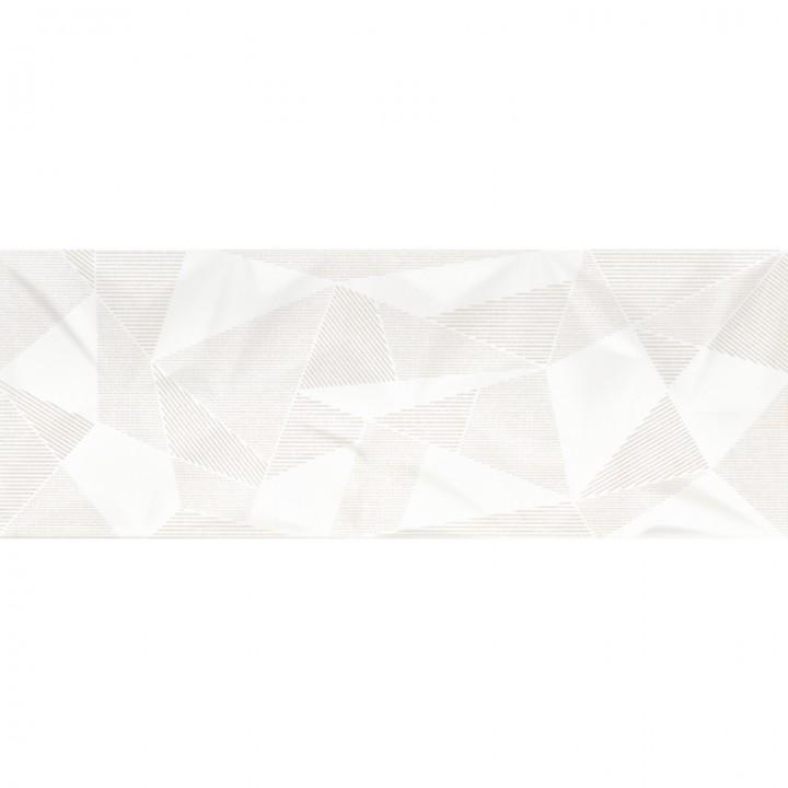 კერამიკული ფილა დეკორი FRACTURE WHITE DEKOR 30X80 REC (293X793)