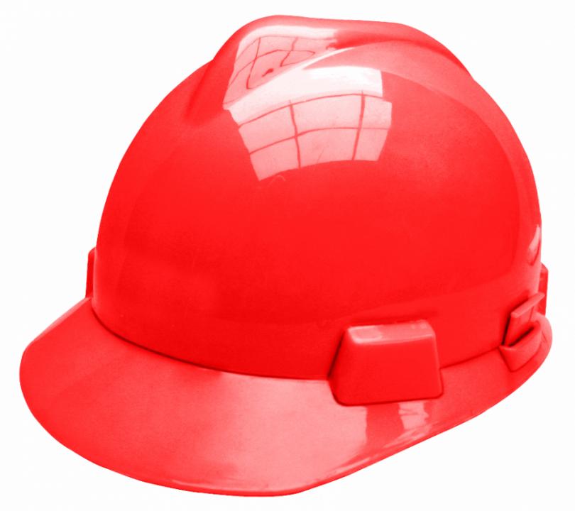 დამცავი ჩაფხუტი (წითელი)-HSH03