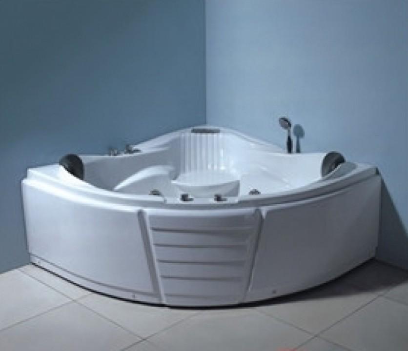 პლ. აბაზანა (ჯაკუზი) 150X150X70სმ. (6ც წყლის დიდი ჭავლი.საშხაპე ყურმილი.ბალიში.წყლის სატუმბი).TA-309
