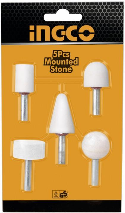 5-ცალიანი თავაკების კომპლექტი ქვაძე სახატი ელ. ხელსაწყოსთვის (AKB0501)