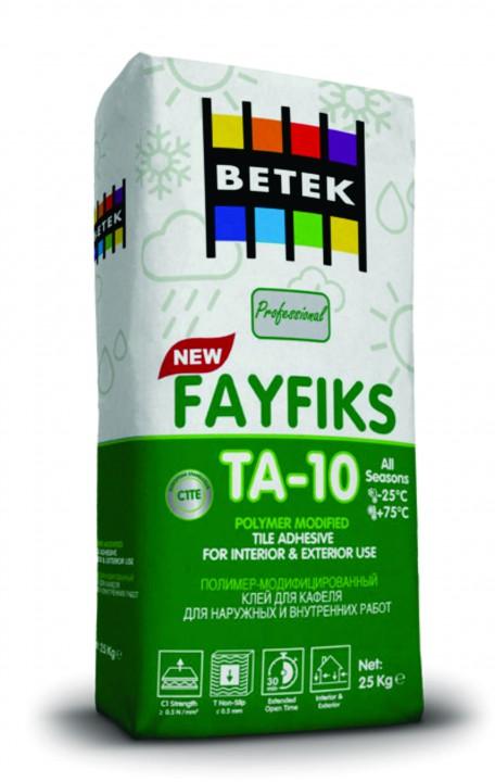 ფისოვანი ცემენტი BETEK FAYFIKS TA-10
