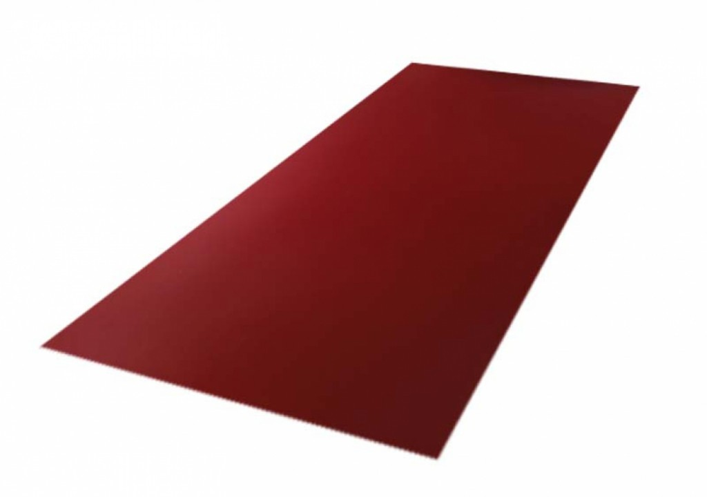 Roofing tin plate covered up with the paint 0.50x1250 RAL 3005 WRINKLE