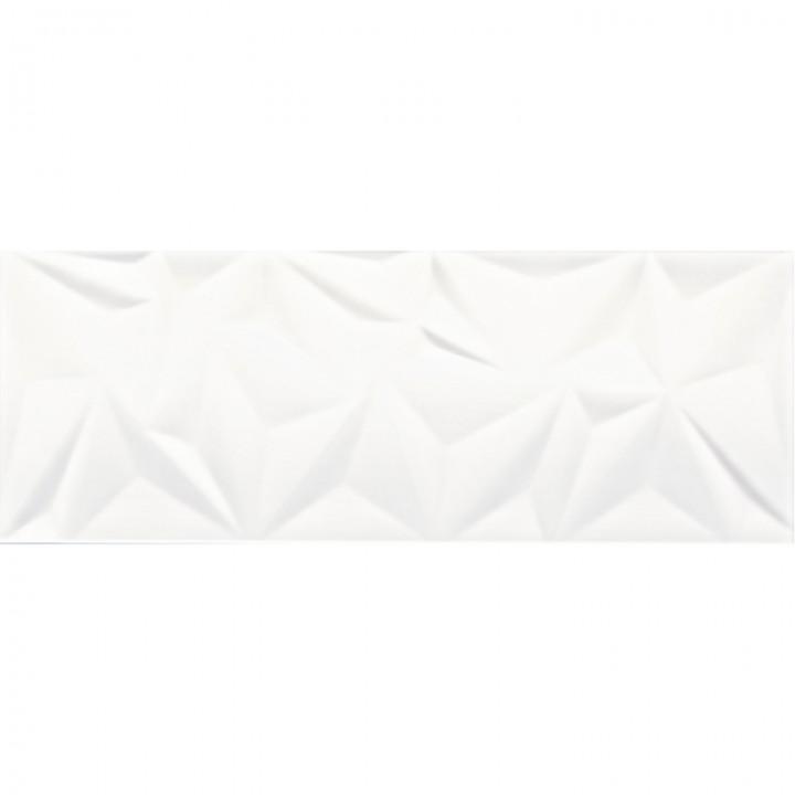 კერამიკული ფილა კაფელი FRACTURE WHITE 30X80 REC (293X793) 1