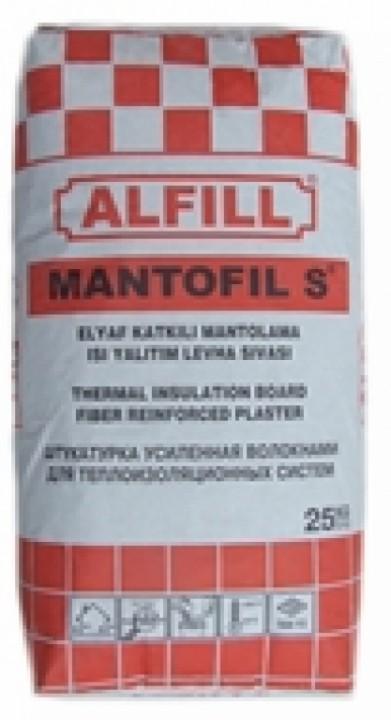 ფასადის ფითხი ALFIL MANTOFIL S 25კგ-იანი ტომარა