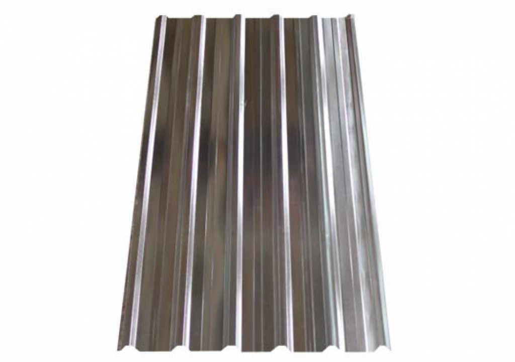 Galvanized rolled metal 0.45x1120   (trapezium)