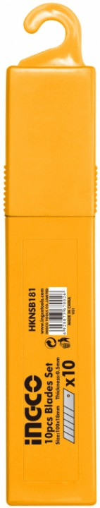 საკანცელარიო დანის პირი 10 ცალი (HKNSB181)
