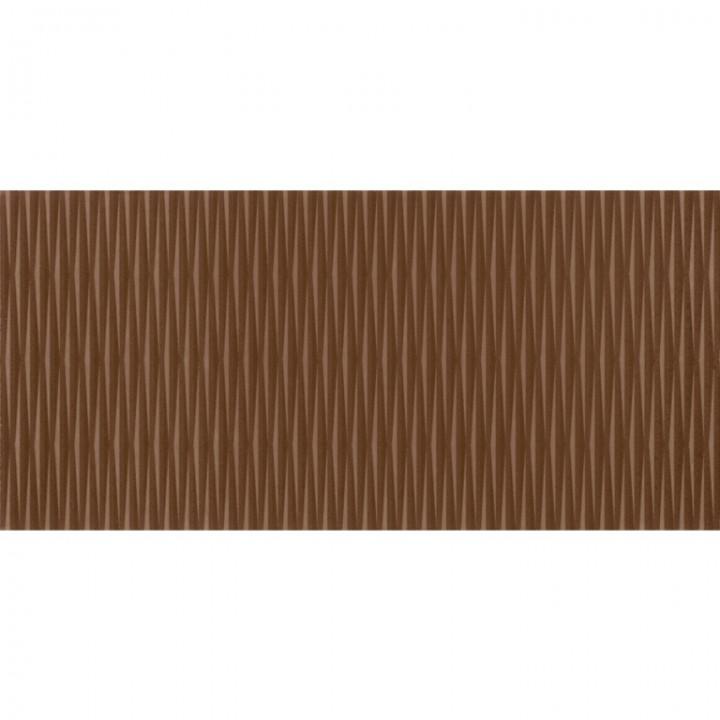 კერამიკული ფილა კაფელიLINE BROWN 20X42.5 1