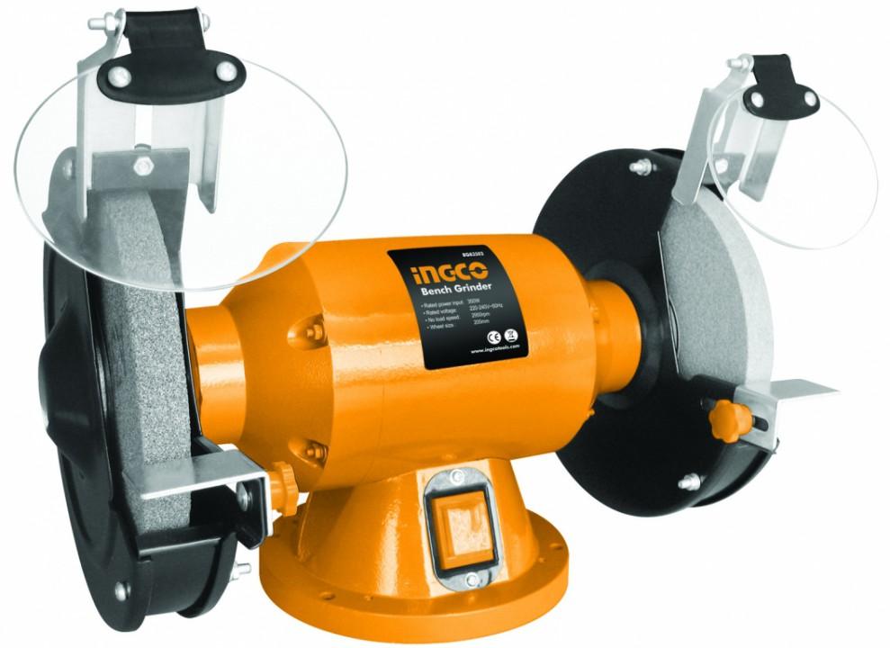 სალესი დანადგარი (ორმხრივი) 350W (BG83502)