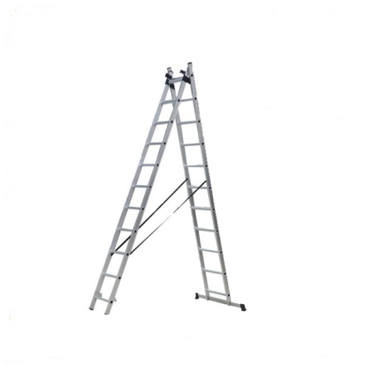 Aluminium ladderWG609-11 2*11