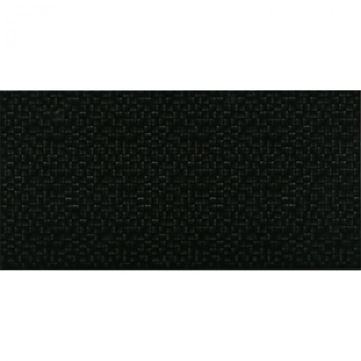კერამიკული ფილა კაფელიTESSARA BLACK 25X50 1