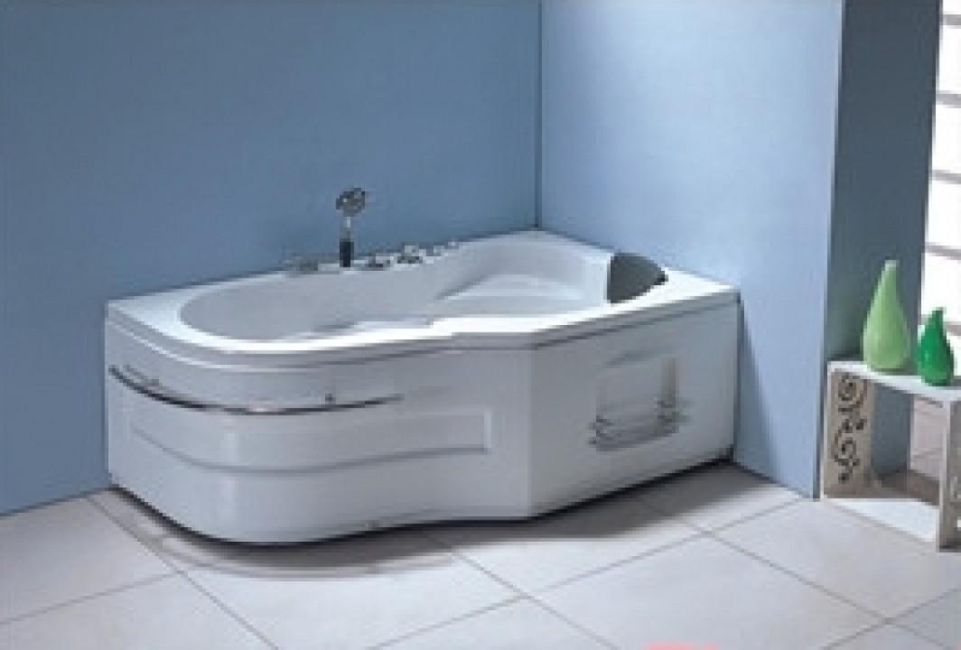 პლ. აბაზანა (ჯაკუზი) 157X96X59სმ. (6ც წყლის დიდი ჭავლი,საშხაპე ყურმილი.ბალიში.წყლის სატუმბი).TA-208