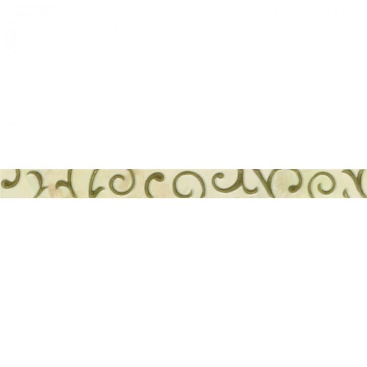 კერამიკული ფილა (კანტი) ONIX BAROK LISTELLO 5X60 INK-REC (5X59.3)