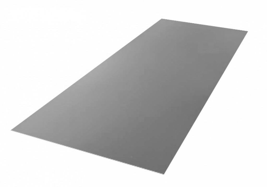 Roofing tin plate covered up with the paint 0.50x1250 RAL 7024 WRINKLE