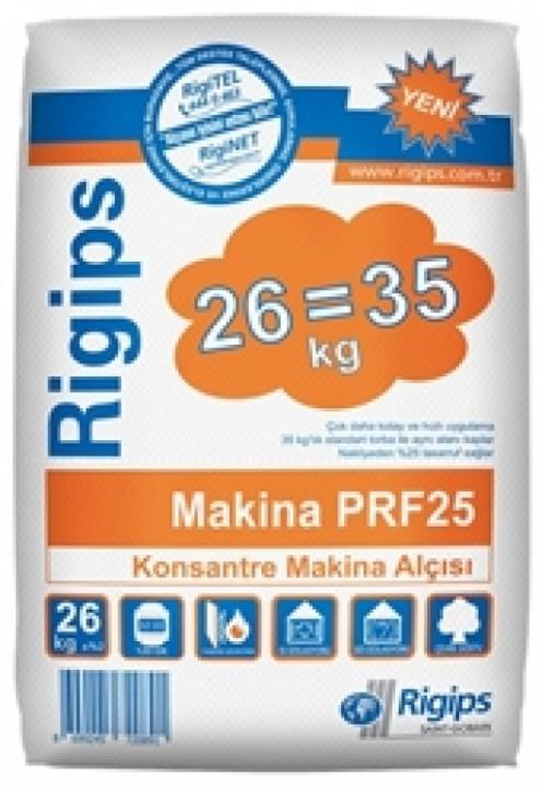 სამშენებლო ბათქაშიRigips Machine applied plaster PRF25 26 კგ-იანი ტომარა