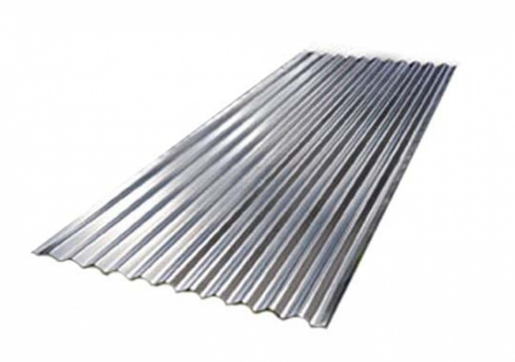 Galvanized rolled metal 0.80x875x2000