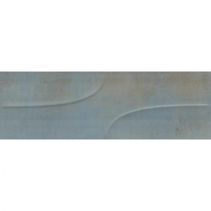 კერამიკული ფილა კაფელი VIENTO SUNSET BLUE DEKOFON 21X63 INK-REC (203X623)