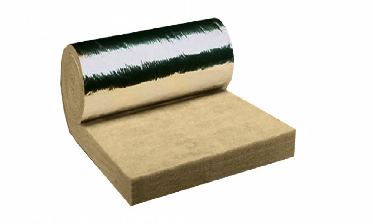 ქვაბამბა (ფოლგიანი 40კგ/მ3) 8X120X300სმ (3.6 მ2 რულონი)