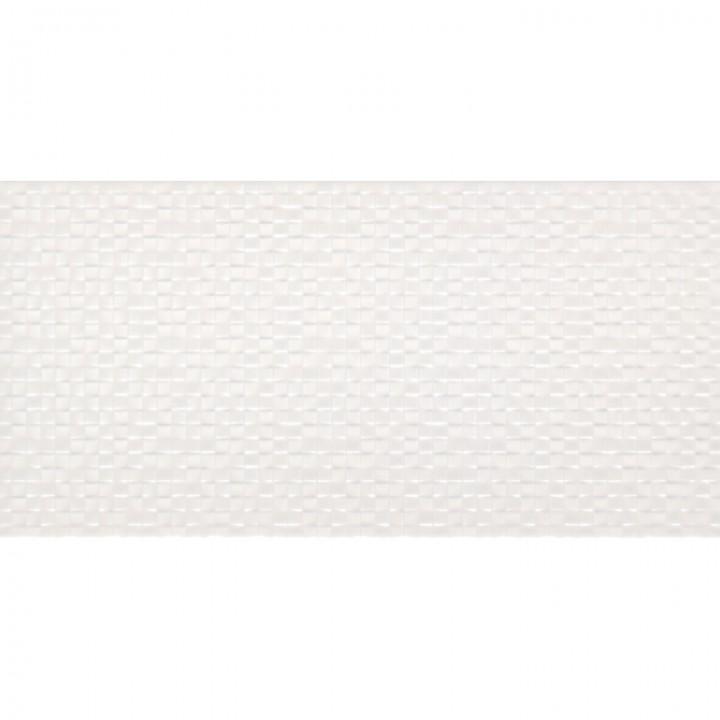 კერამიკული ფილა კაფელი TESSARA WHITE 25X50 1