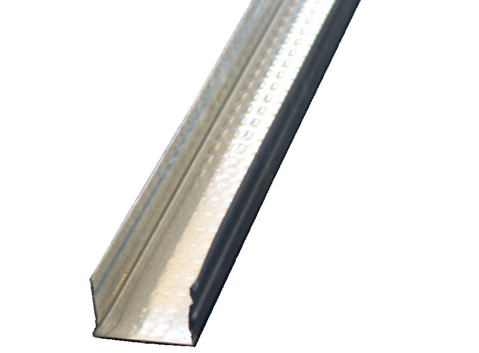 ჭერის U პროფილი (0.60x67.50x3000 მმ მოთუთიებული ნაგლინისაგან)
