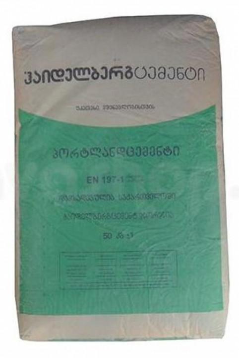 ცემენტიcem IV 32,5 R 50 კგ-იანი ტომარა