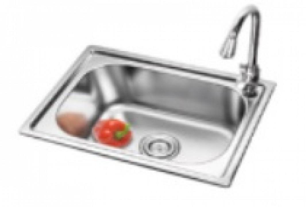 სამზარეულოს ნიჟარა უჟანგავი ფოლადის(550X400X200MM) NOVA-115-5540